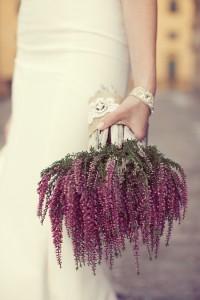 A bouquet of wild Heather
