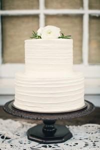 Simple white cake.