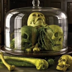 Halloween Skeletons and Skull Decorations