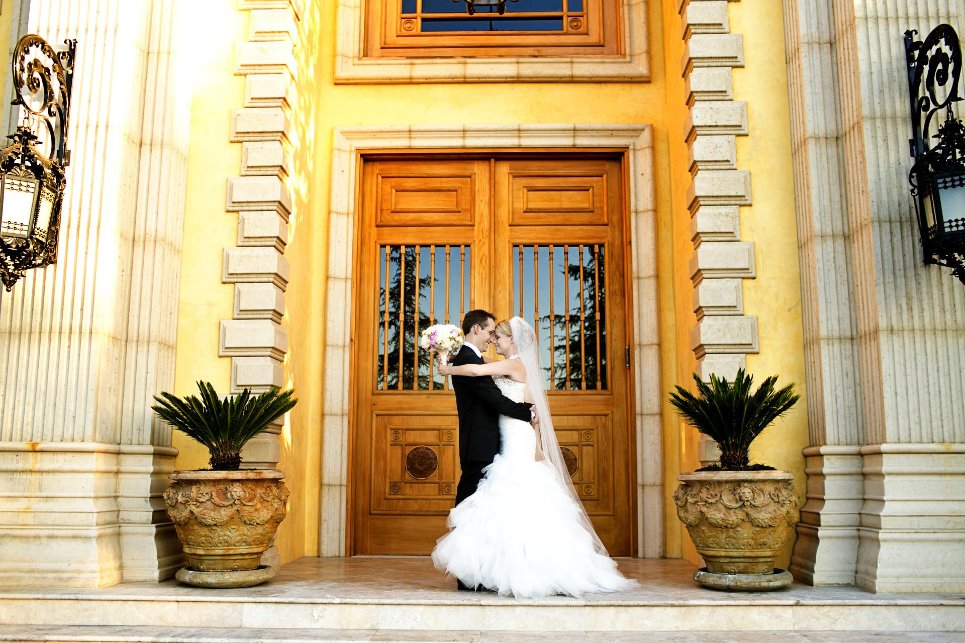 estate wedding southern california