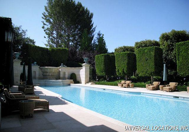 Holmby Hills Private Estate Rental European Architecture