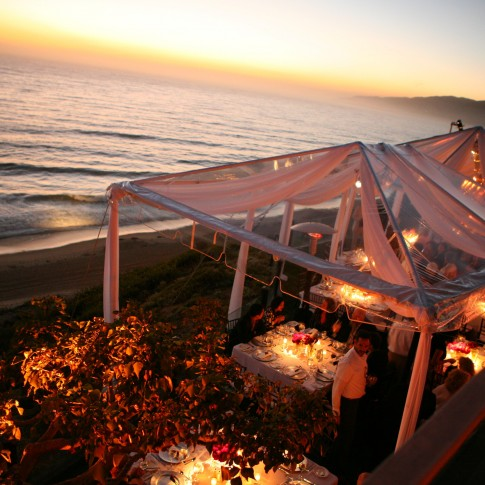 Private Malibu Beach Wedding