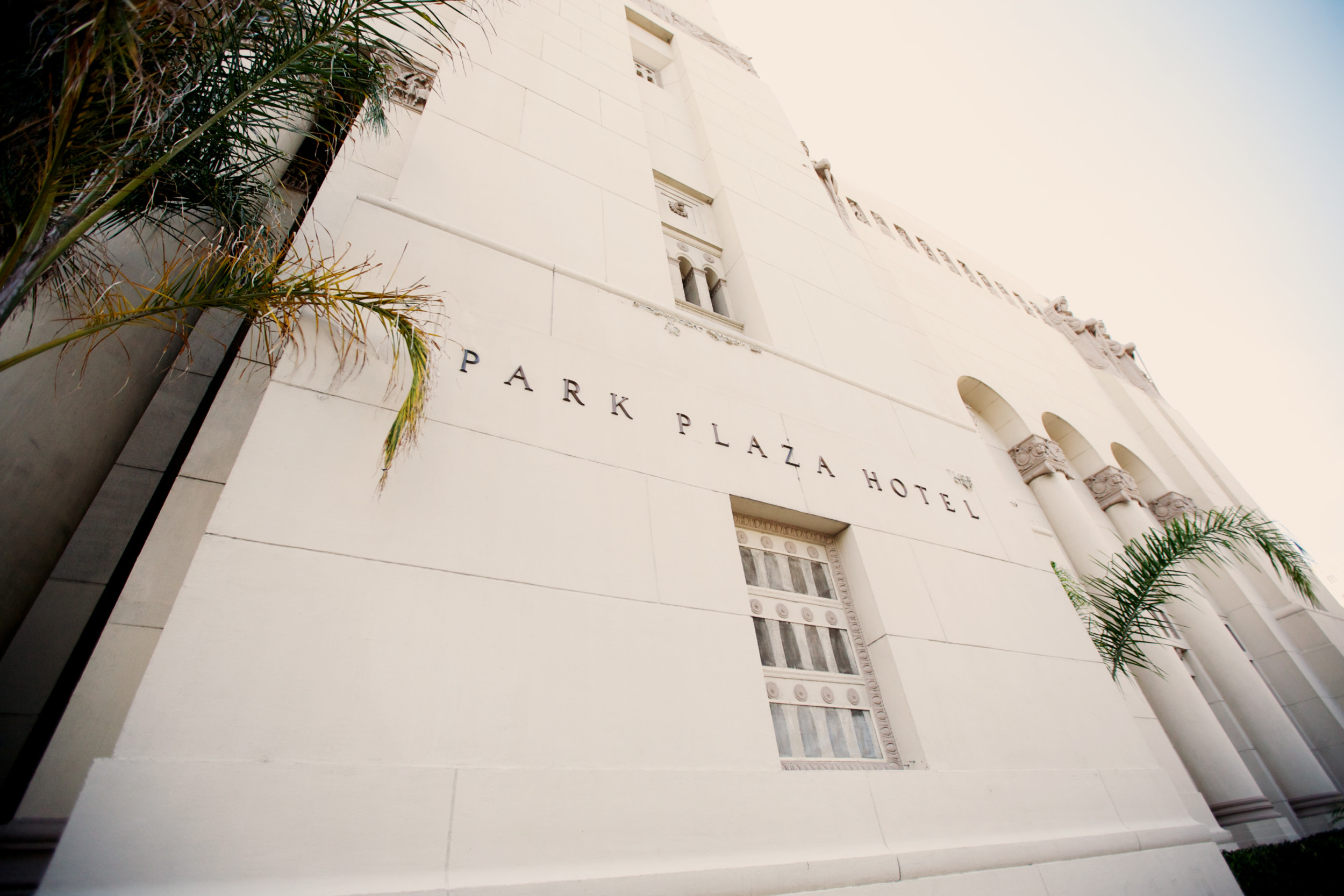 Park Plaza Hotel Wedding