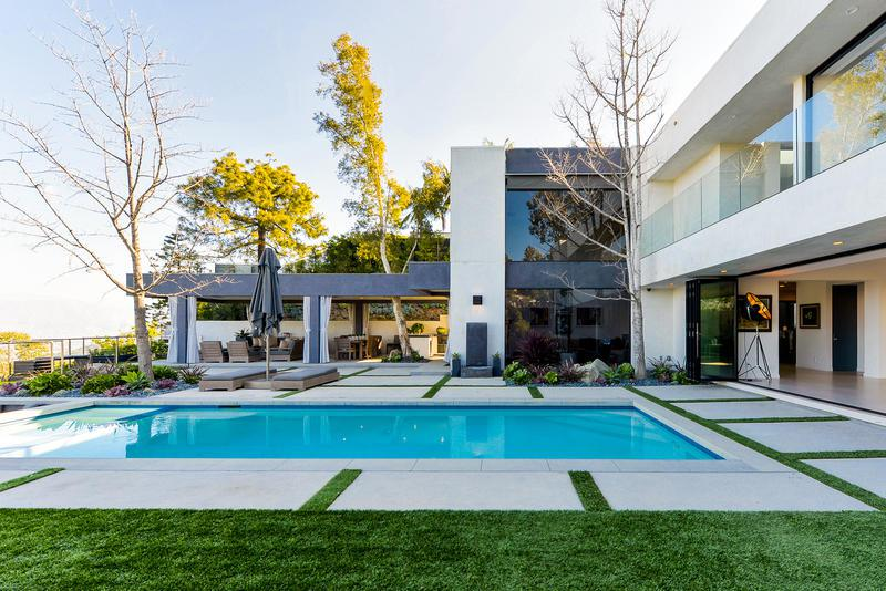 Modern Event Estate Rental Hollywood Hills