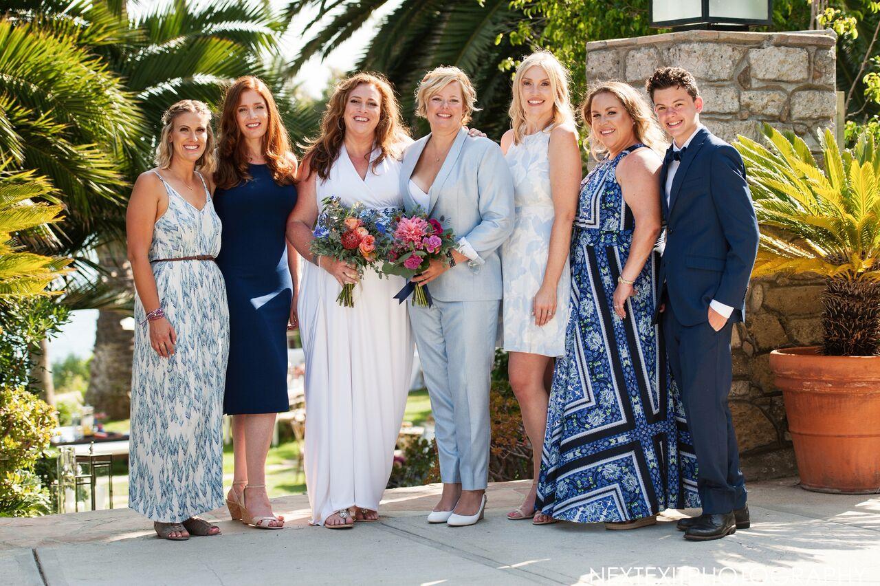 Private Estate LGBT Wedding Malibu