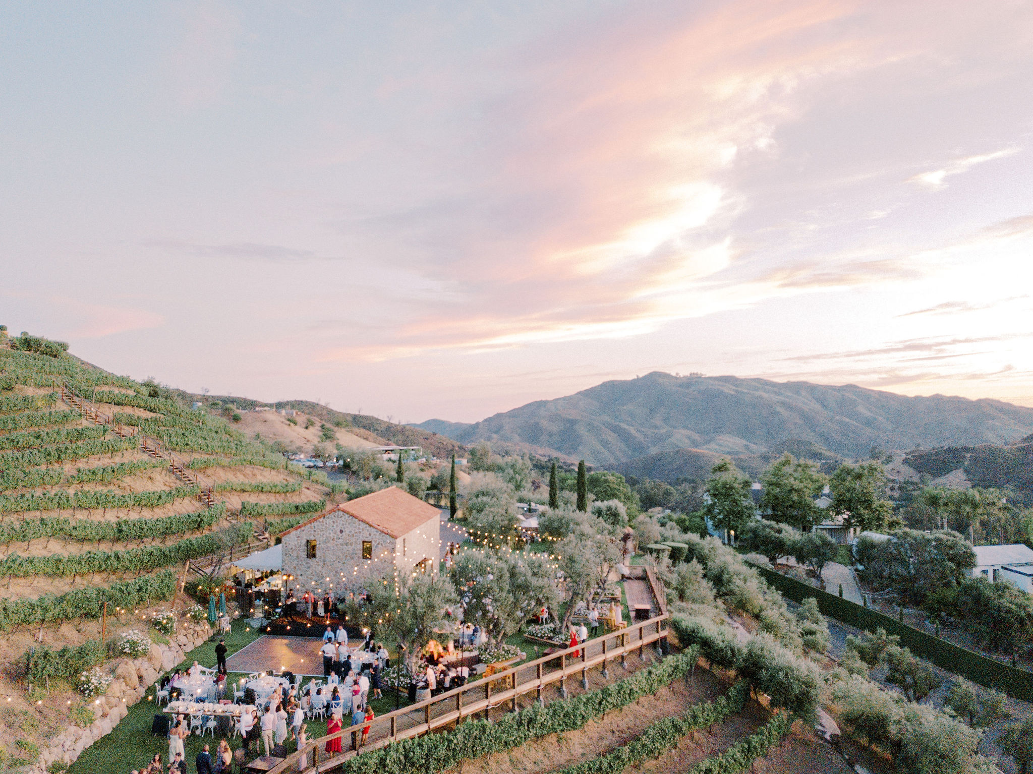 Malibu Vineyard Wedding Estate