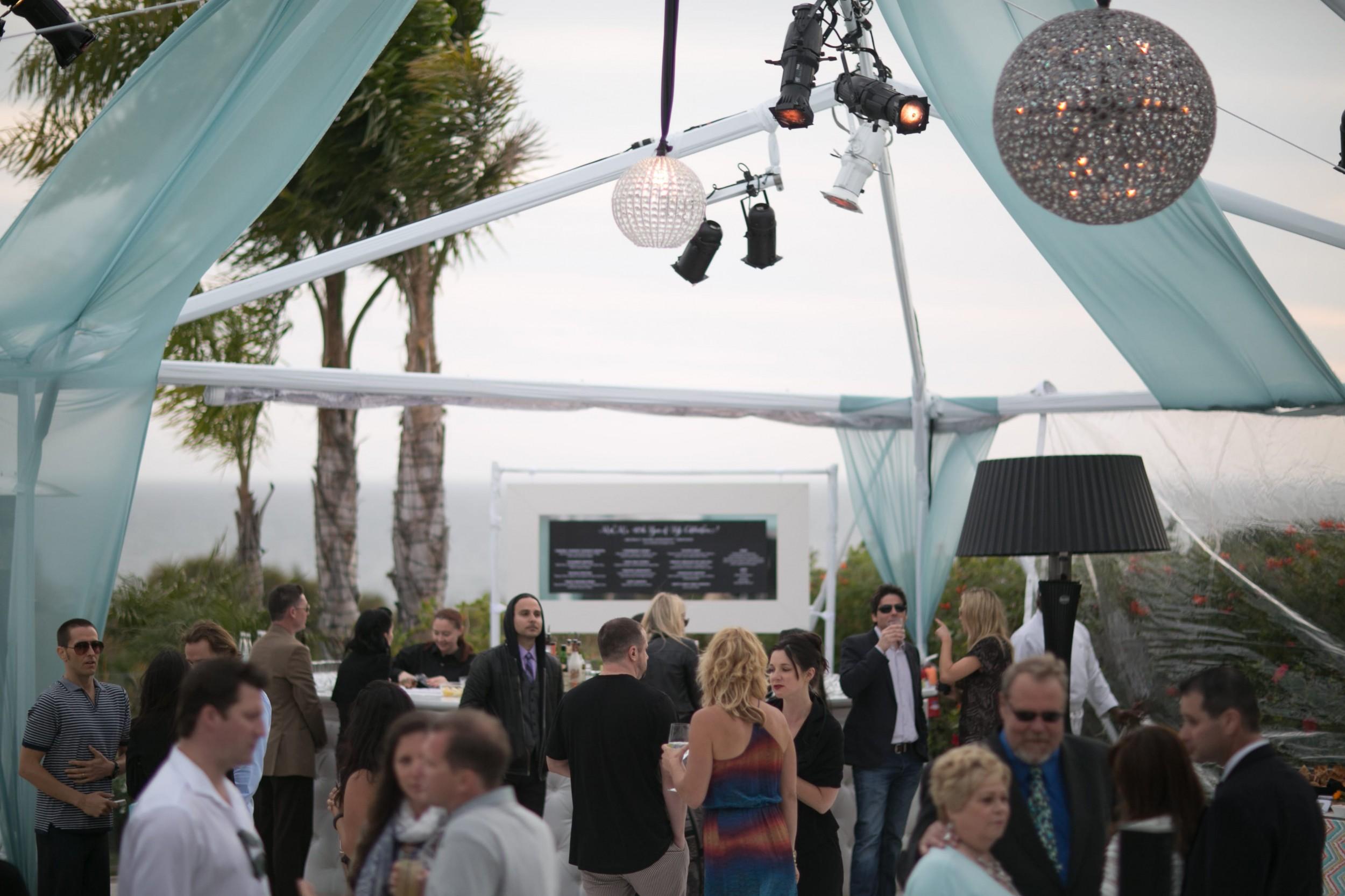 40th birthday party dancing floor