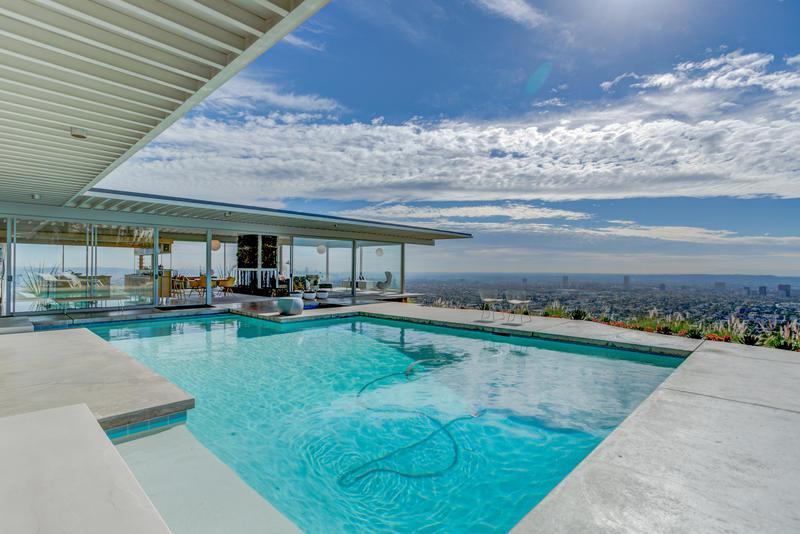 mid century estate Los angeles event rental