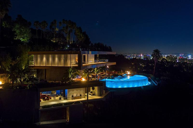 Stunning Modern Events Home Los Angeles