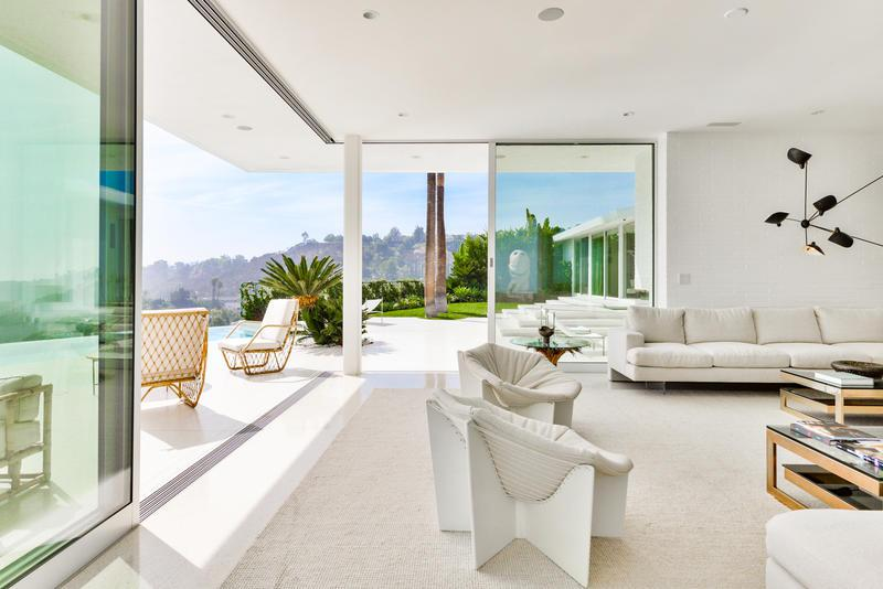 modern hollywood hills home for events