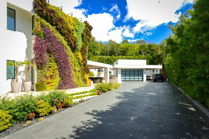 modern private estate rentals southern california